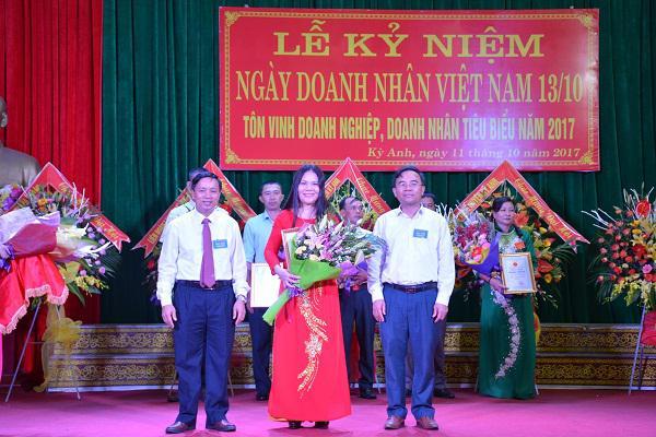 Huyện Kỳ Anh: Kỷ niệm ngày Doanh nhân Việt Nam 13/10.