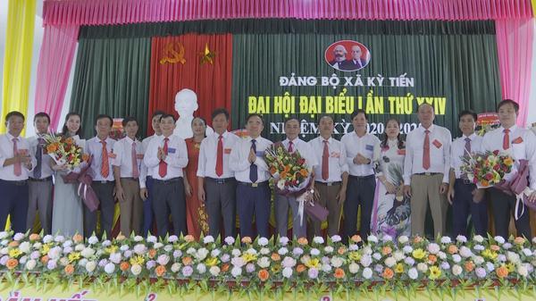 Đảng bộ xã Kỳ Tiến tổ chức thành công Đại hội đại biểu lần thứ XXIV, nhiệm kỳ 2020 - 2025.