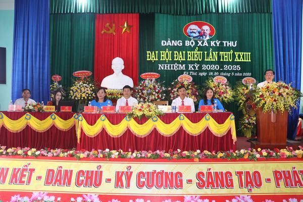 Đảng bộ xã Kỳ Thư đại hội đại biểu lần thứ XXIII nhiệm kỳ 2020 – 2025