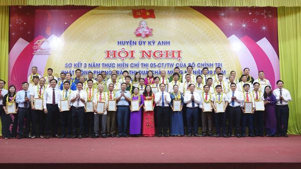 Huyện Kỳ Anh tổ chức hội nghị sơ kết 3 năm thực hiện Chỉ thị 05- CT/TW của Bộ Chính trị về học tập và làm theo tư tưởng, đạo đức, phong cách Hồ Chí Minh