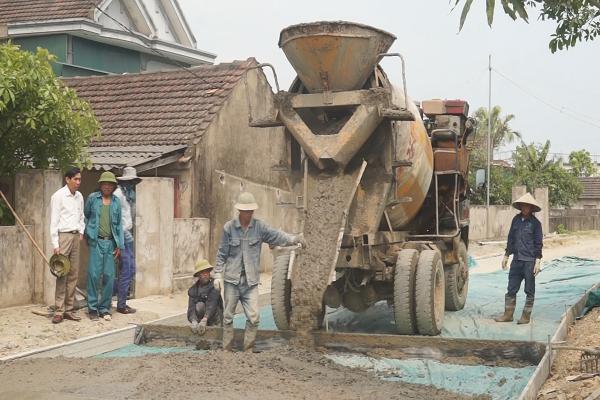 Kỳ Phú đẩy mạnh xây dựng Nông thôn mới, phấn đấu về đích trong năm 2018.