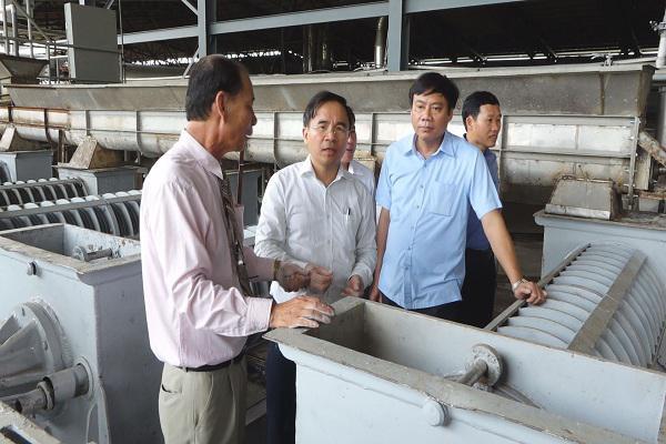 Nhà Máy chế biến bột sắn Thành Mỹ Phát khai trương đi vào sản xuất chế biến tinh bột sắn.