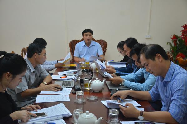 Thường trực HĐND huyện Kỳ Anh họp rút kinh nghiệm công tác tổ chức kỳ họp thứ 10, HĐND huyện khóa XIX.