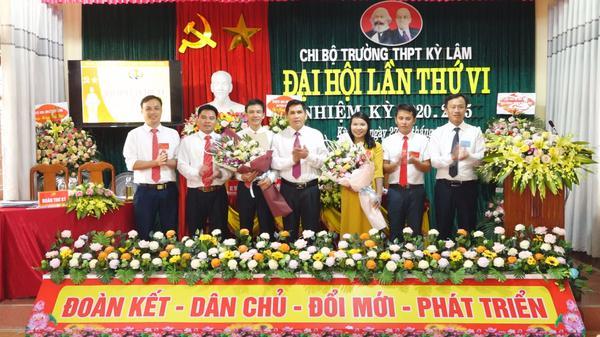 Chi bộ Trường THPT Kỳ Lâm tổ chức thành công đại hội lần thứ VI nhiệm kỳ 2020 - 2025