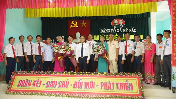 Đại Hội Đảng bộ xã Kỳ Bắc nhiệm kỳ 2020 – 2025
