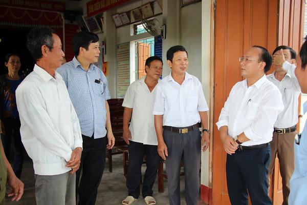 Văn phòng Điều phối Nông thôn mới tỉnh  kiểm tra thẩm định kết quả xây dựng Nông thôn mới tại xã Kỳ Bắc
