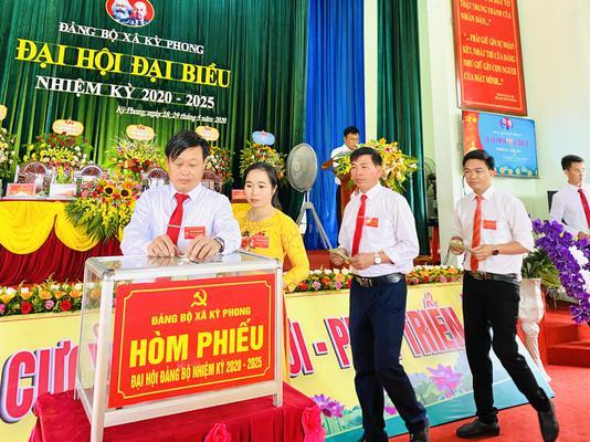 Đảng bộ xã Kỳ Phong quyết tâm đạt chuẩn Nông thôn mới theo hướng đô thị trong nhiệm kỳ 2020 - 2025