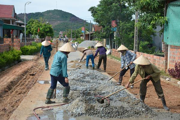 Nổ lực xây dựng Nông thôn mới ở xã vùng trọng điểm lúa