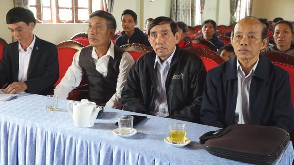 Hội Bảo trợ NKT - TMC và nạn nhân chất độc da cam huyện kỳ Anh tặng quà cho các đối tượng có hoàn cảnh khó khăn nhân dịp tết Canh Tý 2020